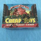 1986 Garbage Pail Kids Cheap Toys Crummy Candy Box 24 Packs BBCE Tape Intact