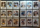 1996 Leaf Signature - Gold On Card Autograph card lot (x26) - Print run only 500