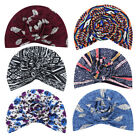 Women Turban Headwrap Beanie Bohemia Pre-Tied Bonnet Chemo Cap Hair Loss Hat 26
