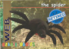 TY Beanie Babies BBOC Card - Series 1 Retired (BLUE) - WEB the Spider - NM/Mint
