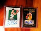 2015 National Treasures Kevin McHale AUTO 25 + Kurt Rambis Historic Contenders