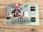 TOM BRADY GAME USED JERSEY 2009 UPPER DECK SPX ONLY 25 EXIST $400.00+