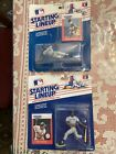 New York Yankees 2 Starting Lineup Figures 1988 Dave Winfield And Rickey Henders