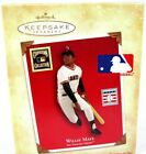 2004 Hallmark Ornament At the Ballpark Baseball ~ Willie Mays Cooperstown Collec