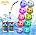 LED Swimming Pool Lights Submerible Lights Floating Hot Tub Accessories 10 pack