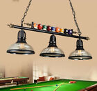 Vintage Pool Billiard Snooker Table Light Pendant Lights Lamp Bar Chandelier
