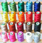 100 PC Spools of silk thread Indian Art silk embroidery threads Wholesale Lot
