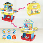Child Pretend Play Tool Work Bench Building Toy Pet Care Playset Kid Birth Gift