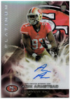 2015 Topps Platinum Football Cards - Review Added 10