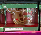 Disney Parks Authentic Mickey Mouse Christmas Cookies for Santa Glass Plate NEW
