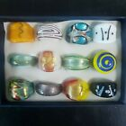 48pcs ITALY MURANO Glass Rings Handcrafted