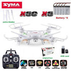 Syma X5C 24Ghz 4CH 6 Axis Remote RC Quadcopter Drone Camera HD White RTF Camera