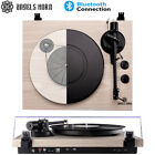 Angels Horn Vintage Vinyl Record Player Turntable Bluetooth Two Speed Speakers