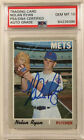 1970 Topps NOLAN RYAN Signed Autographed Baseball Card PSA DNA #712 Graded a 10!