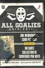 2010-11 Panini All Goalies Sealed Factory Set - 100 Cards and 1 Stopper Sweater