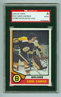 Carol Vadnais Autographed 1974-75 Topps Card #165 Bruins SGC Authentic Encased