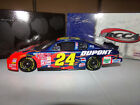 1 24 JEFF GORDON 24 DUPONT HALF CLEAR CAR 2001 ACTION NASCAR DIECAST