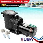 15 1HP In Above Ground Swimming Pool Pump Motor w Strainer Generic Hayward