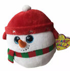 TY Beanie Ballz Collection Icebox Snowman Plush Doll Toy 5 inches Christmas Gift