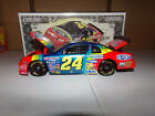 1 24 JEFF GORDON 24 DUPONT MILLION DOLLAR DATE 1997 ACTION NASCAR DIECAST