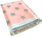 100 Designer Poly Mailers Plastic Envelopes Shipping Bags Custom Smilemail