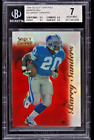 1996 Select Certified Mirror Red Premium Stock Barry Sanders 20 BGS 7