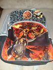 How To Train Your DRAGON Backpack NeW Full sz Book Bag NWT Toothless Night Fury