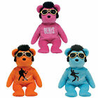 TY Beanie Babies -ELVIS Bears (Set of 3 -Blue Beanie Shoes, Beanie House Rock+1)