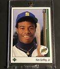 🔥 Must See🔥1989 Upper Deck KEN GRIFFEY JR. Star Rookie #1 PSA 10? BGS 9.5?