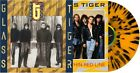 Glass Tiger Thin Red Line Tiger Striped Colored Vinyl New Vinyl LP Color