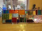 Original Stained Glass Colorful Suncatcher 4x12 ICall It Happy Glass