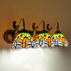 Tiffany Style Wall Sconce Stained Glass Vanity Lighting LED Wall Lamp Fixture