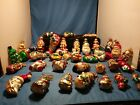 hand blown glass ornaments 38 PIECES BEAUTIFUL OLD LOT