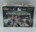 2019 Topps Sticker Box (40 Stickers + 1 Poster).