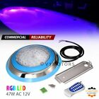 AC 12V 47W RGB LED Above Ground Inground Swimming Pool Light w Niche Wall Mount