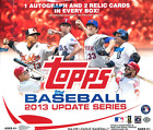 2013 Topps Update Series Baseball Jumbo Wax Box