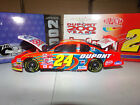 1 24 JEFF GORDON 24 DUPONT 200TH ANNIVERSARY BWB 2002 ACTION NASCAR DIECAST