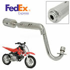 Exhaust Muffler Pipe System For 4 Stroke CRF50 Dirt Pit Bike 50cc 110cc 125cc