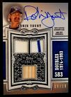 ROBIN YOUNT-2020 Topps Sterling (#8 10) TRIPLE BAT JERSEY AUTO AUTOGRAPH-GEM?