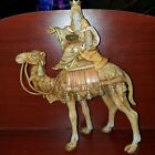 FONTANINI WISEMAN ON Camel 1992 DEPOSE MADE IN ITALY NATIVITY 10 Tall