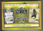 2020 Leaf Metal All-American Bowl Sealed Football Hobby Box - 8 Auto Cards