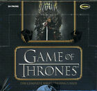 2020 Game of Thrones Complete Series Factory Sealed Box w 2 autographs