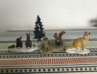 Lemax Vail Village Woodland Animals Set Of 4