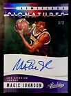MAGIC JOHNSON-2019 20 Absolute Limitless (#3 3) DOUBLE AUTO AUTOGRAPH 1 1 Type