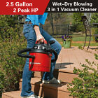 Vacmaster 25 Gallon Portable Car Vacuum Cleaner Wall Mount Wet Dry Shop Vac