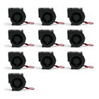 10xBrushless DC Cooling Blower Fan 7530S 12V 2 Wire 75x75x30mm Sleeve Bearing A1