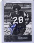 2011 UPPER DECK HOF AUTO WILLIE BUCHANON