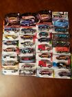 Lot of 28 Hot Wheels  Real Riders  Dairy Delivery  Zamac  Tesla  Chevy