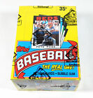 1986 Topps Baseball Box (36 Packs) BBCE Wrapped FASC From a Sealed Case
