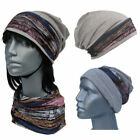 Cool4 Beanie Light Grey Vintage Kopftuch-Look - 2erSet Chemo Turban SBK16